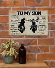 Poster To Son Biker 17x11 Poster poster-landscape-17x11-lifestyle-23
