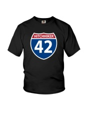 Interstate 42 Youth T-Shirt thumbnail