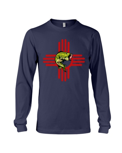 New Mexico Bass Fishing Long Sleeve