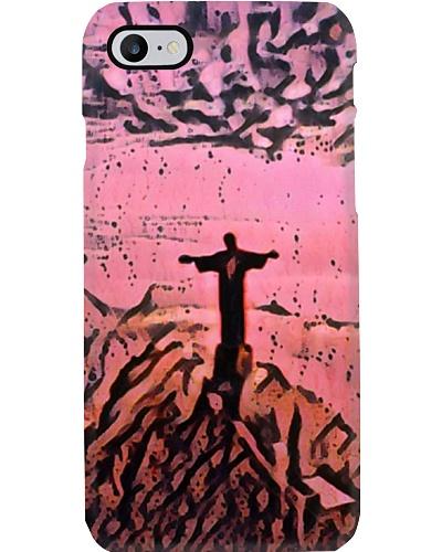 Brazil Christ the Redeemer Artistic Pink Wad