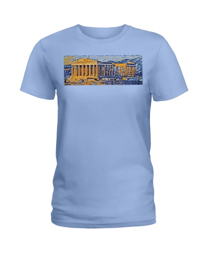 Greece Parthenon Art Classic Random Mosaic