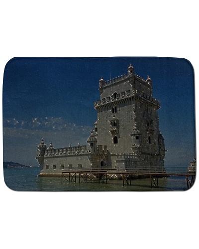 Portugal Belém Tower Artistic Illustration Star
