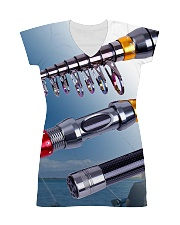 3D PRINT FISHING T-SHIRT All-over Dress front