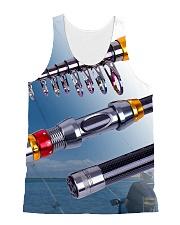 3D PRINT FISHING T-SHIRT All-over Unisex Tank thumbnail
