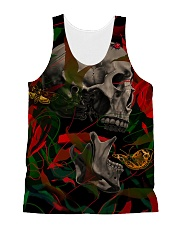 3D PRINT SKULL T-SHIRT All-over Unisex Tank thumbnail