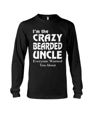 Crazy Bearded Uncle Long Sleeve Tee thumbnail