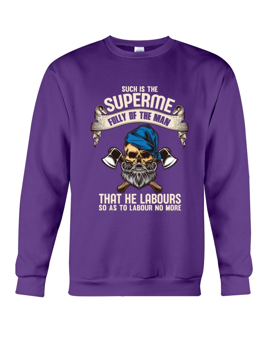 Labours Day  Crewneck Sweatshirt