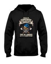 Labours Day  Hooded Sweatshirt thumbnail