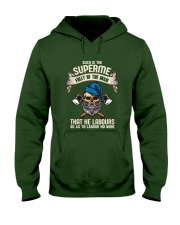 Labours Day  Hooded Sweatshirt front