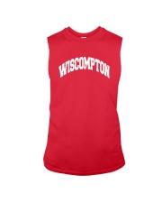 Wiscompton Original Wisconsin And Compton Mashup Sleeveless Tee thumbnail
