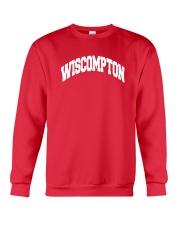 Wiscompton Original Wisconsin And Compton Mashup Crewneck Sweatshirt thumbnail