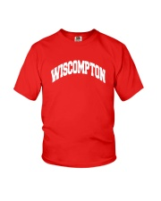 Wiscompton Original Wisconsin And Compton Mashup Youth T-Shirt thumbnail