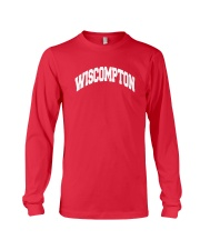 Wiscompton Original Wisconsin And Compton Mashup Long Sleeve Tee thumbnail