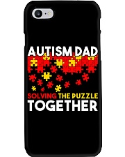 Autism Awareness Shirt Autism Dad Solving The Puzz Phone Case tile