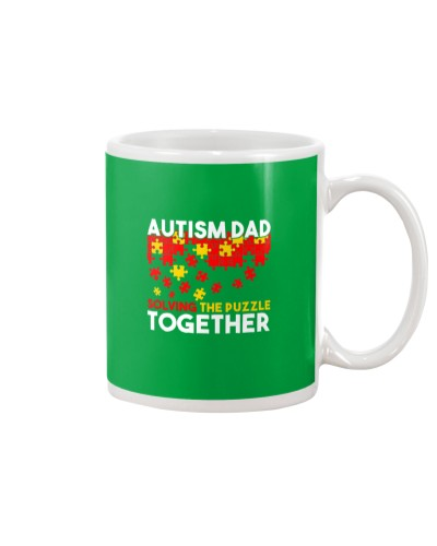 Autism Awareness Shirt Autism Dad Solving The Puzz