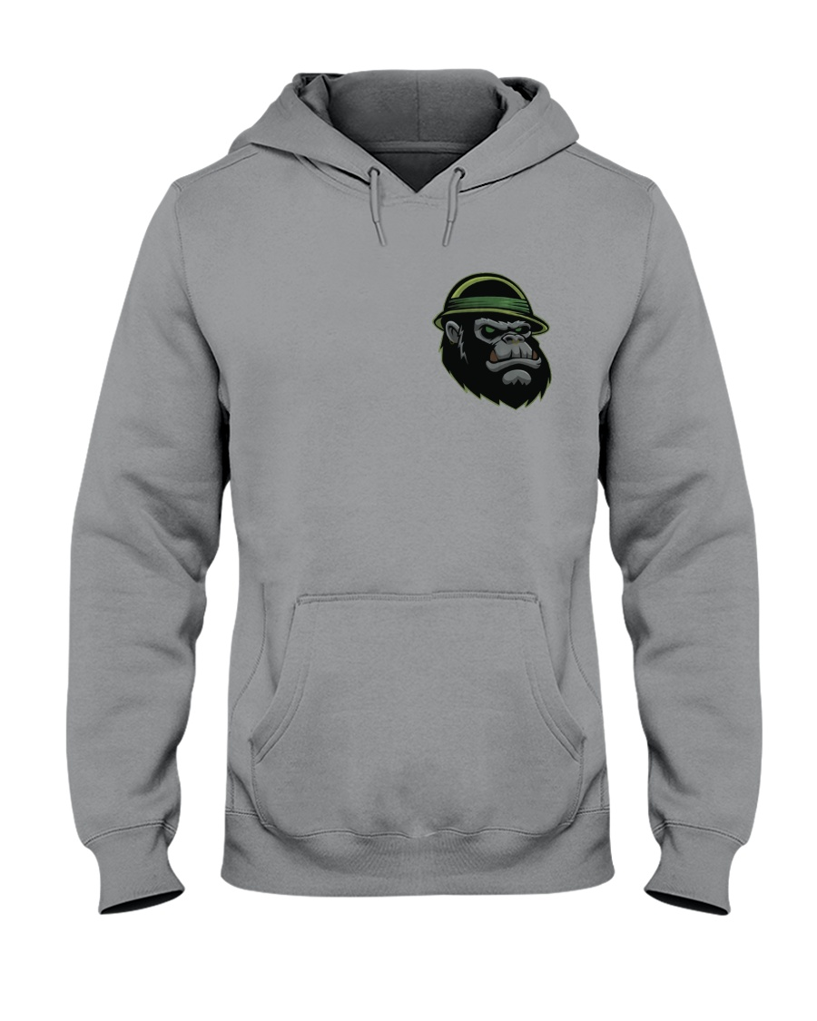 Squatch Hoodie Hooded Sweatshirt