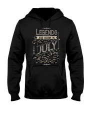 LEGENDS ARE BORN IN JULY T-SHIRT Hooded Sweatshirt tile