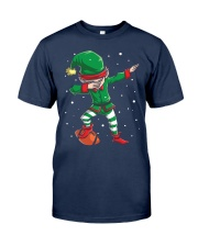 DABBING ELF FOOTBALL DABBING SANTA Classic T-Shirt tile