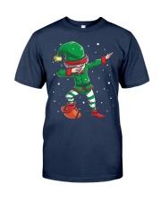 DABBING ELF FOOTBALL DABBING SANTA Classic T-Shirt thumbnail