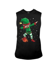 DABBING ELF FOOTBALL DABBING SANTA Sleeveless Tee thumbnail