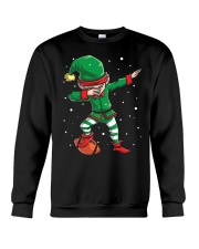 DABBING ELF FOOTBALL DABBING SANTA Crewneck Sweatshirt tile
