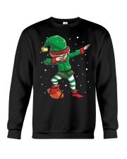 DABBING ELF FOOTBALL DABBING SANTA Crewneck Sweatshirt thumbnail