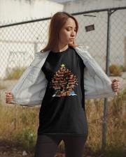 Dachshund  Tree Xmas Classic T-Shirt apparel-classic-tshirt-lifestyle-07