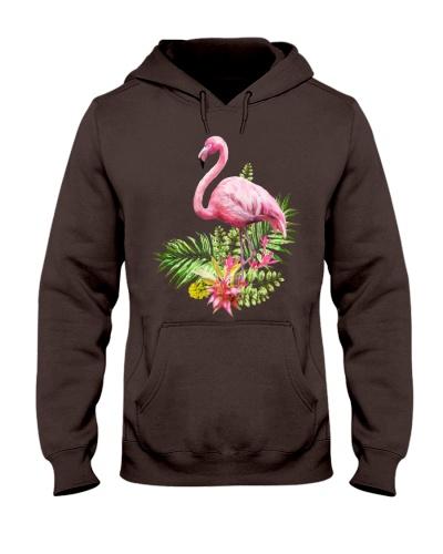 Smart flamingo shirt and mask