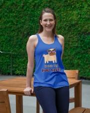 usa Living the pug life shirt Ladies Flowy Tank lifestyle-bellaflowy-tank-front-1