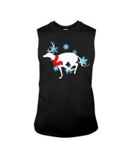 Christmas Greyhound Sleeveless Tee thumbnail