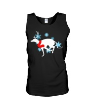 Christmas Greyhound Unisex Tank thumbnail