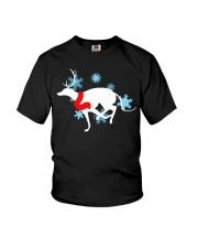 Christmas Greyhound Youth T-Shirt thumbnail