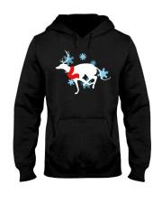 Christmas Greyhound Hooded Sweatshirt thumbnail