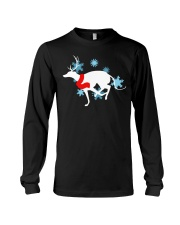 Christmas Greyhound Long Sleeve Tee thumbnail