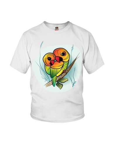 Inseparable Parrots
