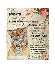 "Gift For Daughter - To My Daughter Tiger Quilt 40""x50"" - Baby thumbnail"
