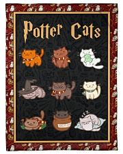 """Potter Cats - Perfect Gift For Fans Small Fleece Blanket - 30"""" x 40"""" front"""