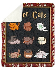 Potter Cats - Perfect Gift For Fans Sherpa Fleece Blanket tile