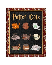 Potter Cats - Perfect Gift For Fans Quilt tile