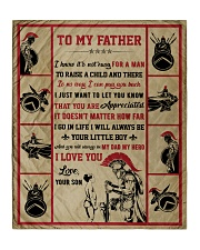 """Gift For Dad - To My Father Knight  Quilt 50""""x60"""" - Throw thumbnail"""