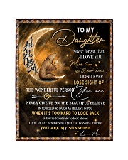 """Gift For Daughter - To My Daughter Bear Quilt 40""""x50"""" - Baby thumbnail"""