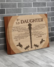 Gift For Daughter - To My Daughter Dragonfly 14x11 Gallery Wrapped Canvas Prints aos-canvas-pgw-14x11-lifestyle-front-12