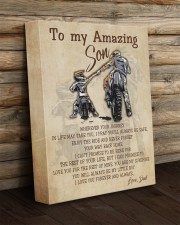 Gift For Son - To My Son Biker 11x14 Gallery Wrapped Canvas Prints aos-canvas-pgw-11x14-lifestyle-front-19