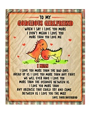 "Gift For Girlfriend - To My Girlfriend Dinosaur  Quilt 50""x60"" - Throw thumbnail"