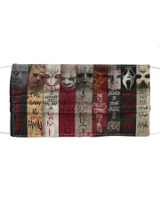 Horror Character Cloth face mask front