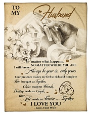 "Gift For Husband - To My Husband Small Fleece Blanket - 30"" x 40"" front"
