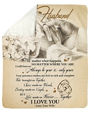 "Gift For Husband - To My Husband Sherpa Fleece Blanket - 50"" x 60"" thumbnail"