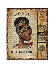 Just A Girl Who Loves Books - Gift For Book Lovers Quilt tile