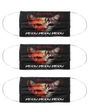 Ch Ch Ch Moew Moew Moew Cloth Face Mask - 3 Pack front