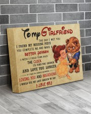 Gift For Girlfriend - To My Girlfriend  14x11 Gallery Wrapped Canvas Prints aos-canvas-pgw-14x11-lifestyle-front-12